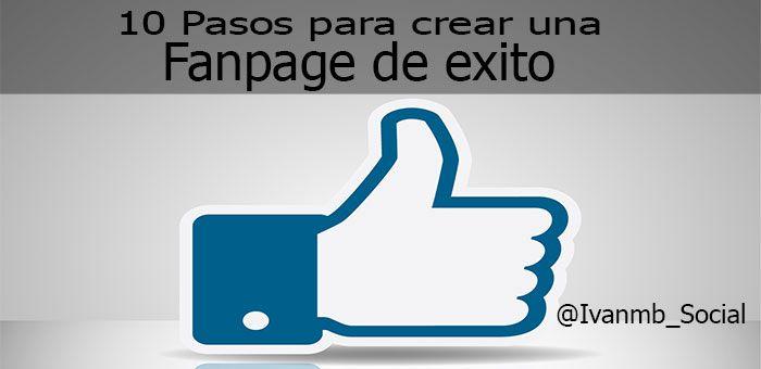 como crear una fanpage en facebook