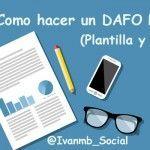 Como hacer un DAFO Personal – Ejemplo y Plantilla