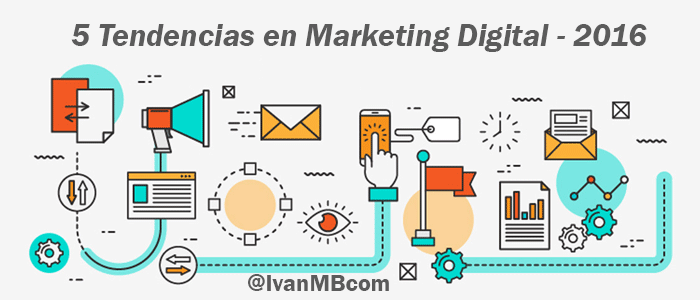Tendencias en Marketing online 2016