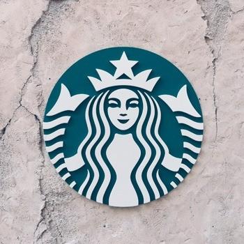 Logotipo ejemplo Starbucks